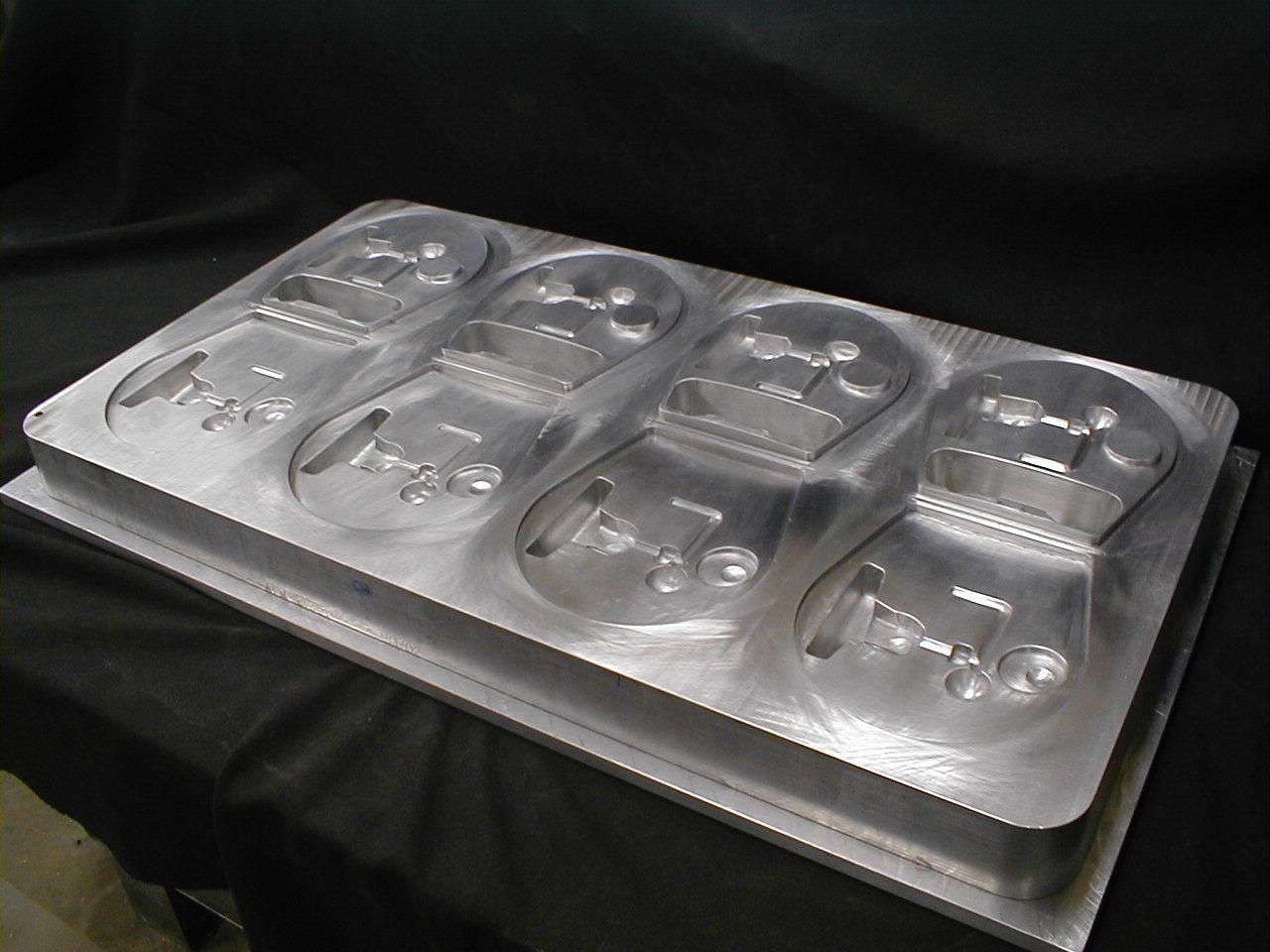 Como os moldes de Vaccum Forming são produzidos